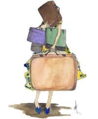 maletas para el hospital